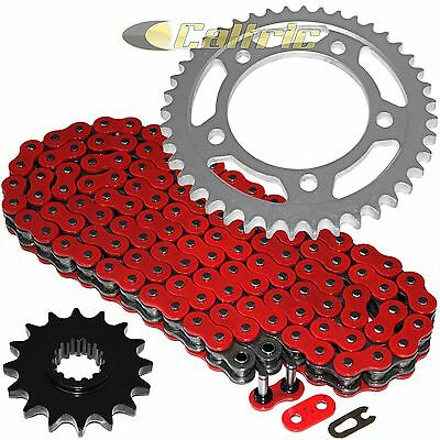 AU65.15 • Buy Red O-Ring Drive Chain & Sprockets Kit For Honda VTR1000F Superhawk 1998-2005