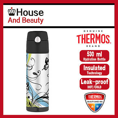 AU29.99 • Buy NEW Thermos S/Steel Vaccum Insulated Hydration Drink Bottle 530ml Butterfly
