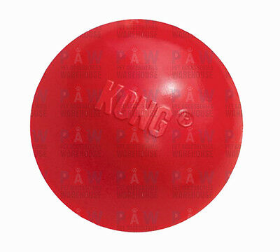 AU22.95 • Buy KONG CLASSIC BALL MEDIUM/LARGE KB1 Red Tough Durable Dog Rubber Chew Toy