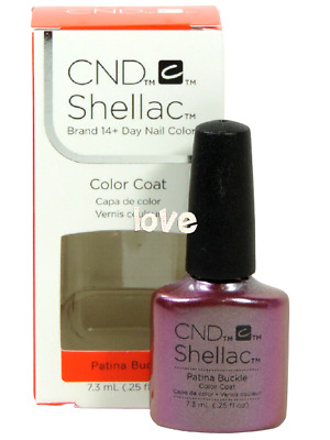 AU16.75 • Buy CND Shellac Gel Color UV Polish Craft Culture Collection 91255- Patina Buckle