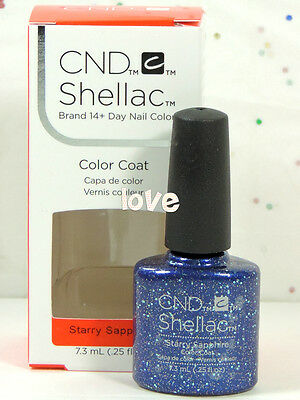 AU13.58 • Buy CND Shellac Gel Color UV Polish Starstruck Collection 91261- Starry Sapphire