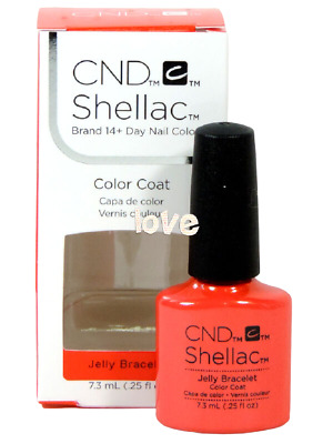 AU16.75 • Buy CND Shellac Gel Color UV Nail Polish New Wave Collection 91408- Jelly Bracelet