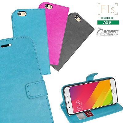 AU6.99 • Buy Wallet Flip Card Slot Stand Case Cover For Oppo F1s A59