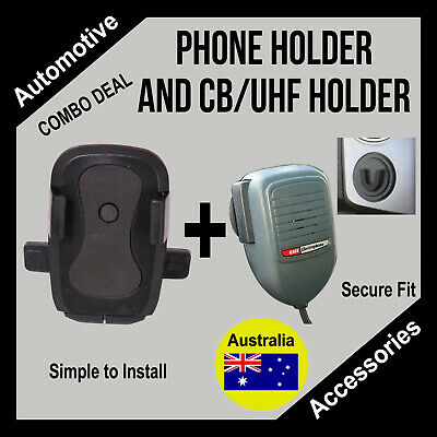 AU84.95 • Buy Volkswagen VW Amarok Accessories - Phone Holder And CB/UHF Holder - COMBO DEAL