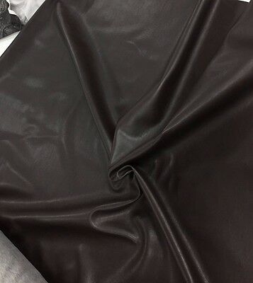£9.99 • Buy SOFT CLOTHING PVC FABRIC 5 Cols Leatherette Upholstery Faux Leather Dress Vinyl