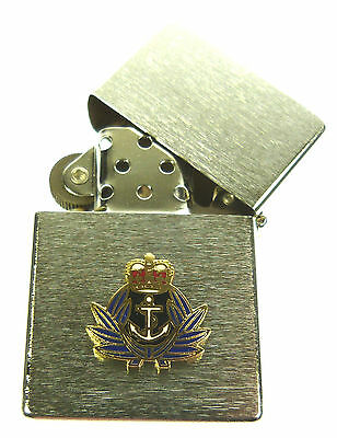Wrns Womens Royal Naval Service Windproof Chrome Plated Lighter • 9.99£