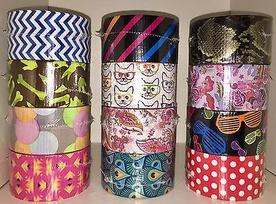 $4.99 • Buy Pick Your Design 3M Scotch Duct Tape Brand 10 Yards YOU CHOOSE NEW FREE SHIPPING