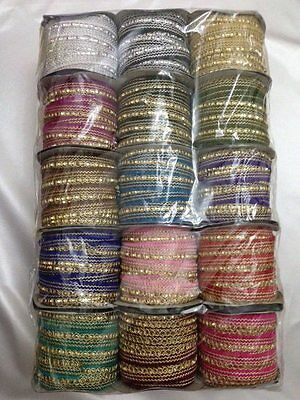 2Yards Sequin Braid  Sewing,Crafts,Costume,Trimming ,Decorative -Various Colours • 1.99£