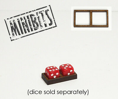 Wargames Hit Marker MDF Dice Frames - Double Frames - Various Sizes • 2.20£