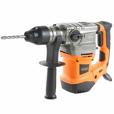 View Details VonHaus 1500W Rotary SDS Drill Impact Hammer With SDS Plus Chuck And Chisel Bits • 64.99£