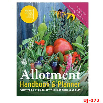 RHS Allotment Handbook & Planner Book By Royal Horticultural, NEW Paperback • 11.66£