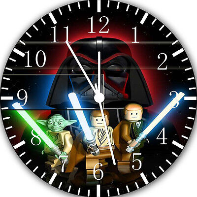 Lego Star Wars Wall Clock 10  Will Be Nice Gift And Room Wall Decor W412 • 13.22£