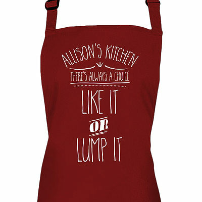 Personalised Ladies Cooking Kitchen Baking Apron By Inspired Creative Design • 13.99£