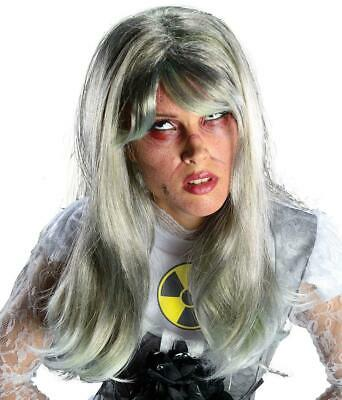 Nuclear Bride Wig Zombie Woman Fancy Dress Halloween Adult Costume Accessory • 14.08£