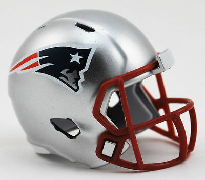 $6.85 • Buy New England Patriots Riddell Speed Pocket Pro Helmet