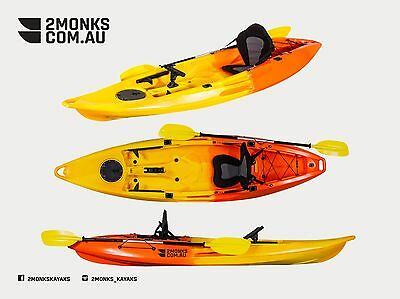 AU460 • Buy Brand New 3.1M Fishing Kayak 1.5 Seater  Glide  1 Adult And 1 Kid Double Tandem