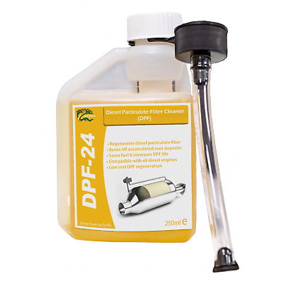 DPF DIESEL PARTICULATE FILTER CLEANER Hydra Fuel Treatment 250ml Treats Upto 60L • 9.95£