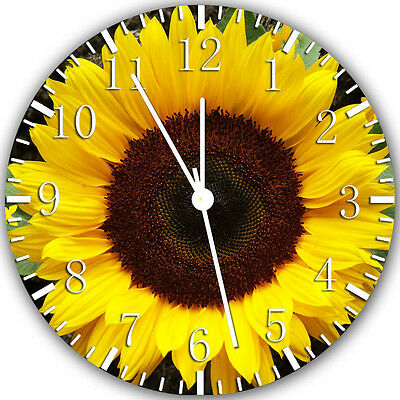 £13.06 • Buy Sun Flower Wall Clock 10  Will Be Nice Gift And Room Wall Decor X26