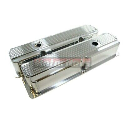 $167.95 • Buy Ford FE Fin Fabricate Polish Aluminum Tall Valve Cover BBF 332 352 390 427 428