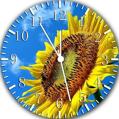 £13.06 • Buy Sun Flower Wall Clock 10  Will Be Nice Gift And Room Wall Decor Z175