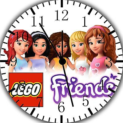 Lego Friends Wall Clock 10  Will Be Nice Gift And Room Wall Decor Z186 • 13.22£