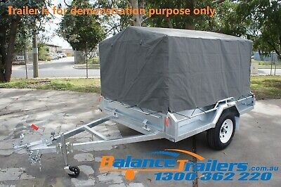 AU430 • Buy 7X5 BOX TRAILER CAGE CANVAS COVER TARP 900mm 3 FOOT