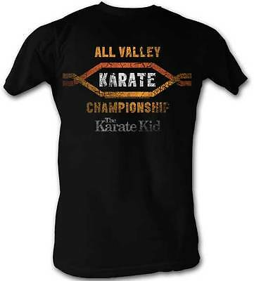 $20.70 • Buy Karate Kid All Valley Karate Championships Adult T Shirt Great Classic Movie