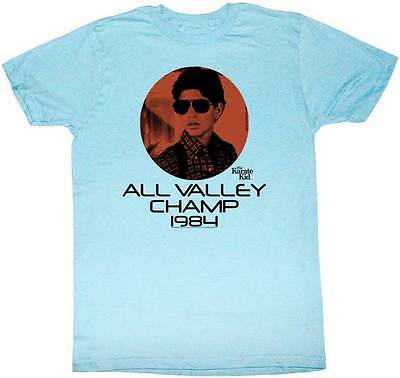 $20.70 • Buy Karate Kid Daniel San All Valley Champ 1984 Adult T Shirt Great Classic Movie