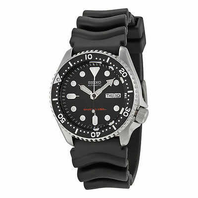 $ CDN483.70 • Buy Seiko SKX007 Automatic Black Dial Rubber Strap 200m Scuba Diver Watch SKX007K1