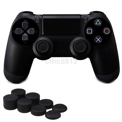 AU3.51 • Buy 8pcs Silicone Thumb Stick Grip Cover Cap Joystick For PS4 Game Analog Controller