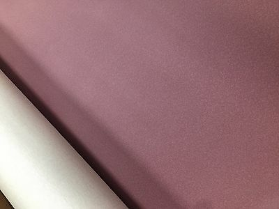 FAUX LEATHER VINYL FABRIC DUSKY PINK Material Heavy Waterproof  Leatherette • 0.99£