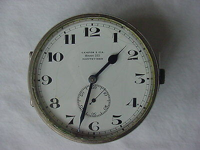 AU512.69 • Buy Campos & Cia 8 Day Antique Auto Watch From Montevideo, Uruguay