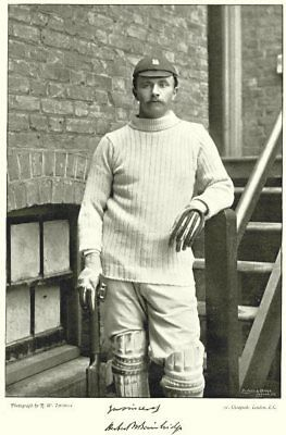 WARWICKSHIRE CRICKET. HW BAINBRIDGE- Captain Of Eton, Cambridge Batsman 1896 • 9.99£