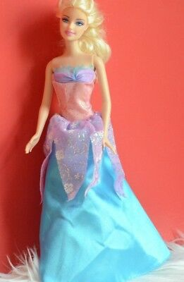 Collectible Barbie Doll Swan Lake Priness 1998 Children Kids Pink Blue Dress Toy • 7.15£