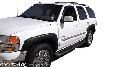 $209 • Buy FENDER FLARES Black 6 PIECE SET For: CHEVY TAHOE 2000-2006