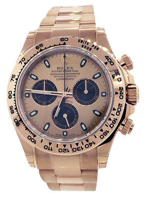 $ CDN52339.32 • Buy Rolex Daytona Everose Rose Gold 116505 40mm Pink