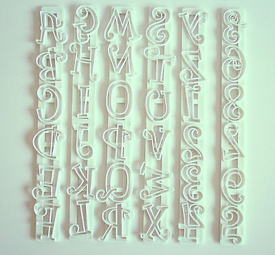 £5.99 • Buy Tappit Capital Letters & Numbers, Cutters, Sugarcraft, Cake Decorating