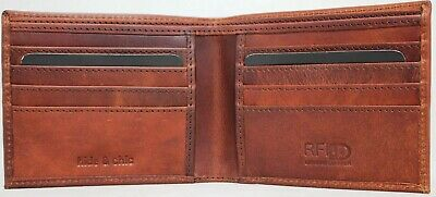 AU21.95 • Buy RFID Security Lined Leather Wallet Quality Full Grain Cow Hide Leather. 11051.