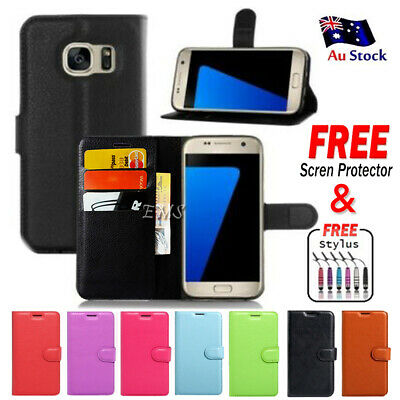 AU7.99 • Buy For Samsung Galaxy Note 8 S8+ Plus S7 S6 S6 Edge Wallet Leather Flip Case Cover