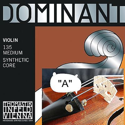 $13.90 • Buy *Dominant 4/4 Size Violin Strings -Single A String ( OEM Packing For Best Price)