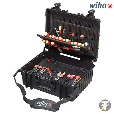 £750 • Buy Wiha XL 80pc Tool Set Electrician Competence VDE-Insulated Screwdriver Kit