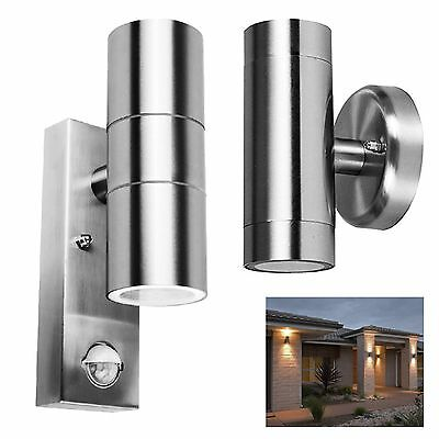 Outside Entrance Wall Light Garage Patio Dual PIR Sensor Security Lantern Lamp • 24.94£