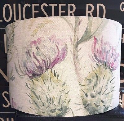 New Handmade Lampshade In Voyage Thistle Glen Spring 3 Sizes Lamp Or Ceiling • 31£