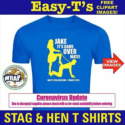 £3.25 • Buy Stag Do T Shirts Custom Printed T Shirt Personalised T Shirt Stag T Shirt Hen T