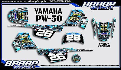 $ CDN72.57 • Buy Yamaha PW-50 Wood Replica LL Graphics Decal Kit