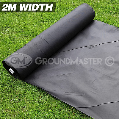 £27.99 • Buy 2m Wide Groundmaster Weed Control Fabric Landscape Ground Cover  Membrane