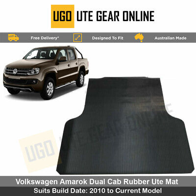 AU94.99 • Buy VW Volkswagen Amarok -  Ultimate - Highline (2010-Current) - Rubber Ute Mat