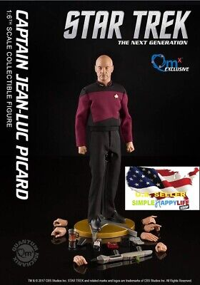 $ CDN400.79 • Buy QMx 1/6 Star Trek PICARD TNG Collectible Action Figure EXCLUSIVE Brand New ❶USA❶