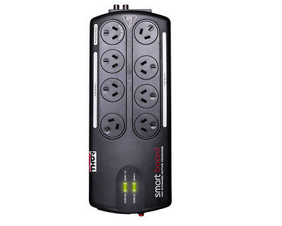 AU275 • Buy Thor A12BF 8-Way Smart Surge Protection Power Board With Dynamic Active Tracking