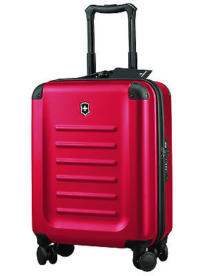 New VICTORINOX Spectra™ 2.0 - 55cm Hardsided Global Carry-On Red Suitcase Swiss • 541.20£